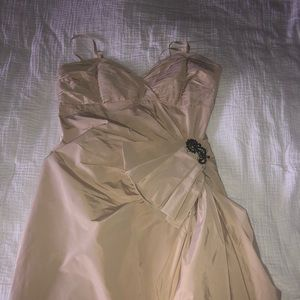 Nude Size 8 BCBGMAXAZRIA cocktail dress